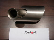 Auspuff Endrohr Endrohrblende links Porsche 996 exhaust tail pipe 99611105302
