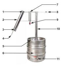 STILL 30L distiller moonshine brew distillateur gnôle Brenner distiliatorius 75%