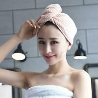 Absorbent Towel Quick-drying Bath Towel Hair Dry Cap New Hair Rapid Drying I9O5
