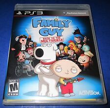 Family Guy: Back to the Multiverse Sony PlayStation 3 Factory Sealed! Free Ship!