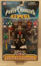 Power Rangers Lightspeed Rescue - Deluxe Supertrain Megazord Micro Playset (MOC)