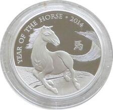 2014 Royal excellent état British LUNAIRE cheval Deux Livre argent reproduction