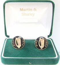 1978 Gemelli Irlandesi fatti da vecchi IRLANDA MONETE in nero e oro