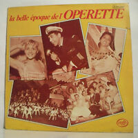 33T Annie CORDY BOURVIL MARIANO MURANO GUETARY Disque LP BELLE EPOQUE OPERETTE