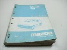 MAZDA 121 1988 Werkstatthandbuch Workshop Manual 1178-20-88A
