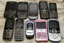 New listing Cell Phone Lot, Blackberry, Samsung, Sanyo. Parts or Repair.