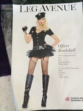 "Leg Avenue ""Officer Bombshell"" Halloween Costume SZ. S/M ,P/M"