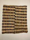 Vintage Turkish Kilim 222x190 cm wool kelim rug Beige, Brown, Black, Large