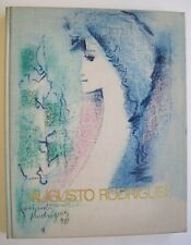 Augusto Rodrigues 50 Anos de Arte SIGNED w/Illustration Limited Edition 1980