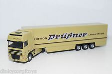 LION CAR BASED DAF 95XF SPACE CAB PRUßNER SPEDITION LOHNE TRUCK WITH TRAILER