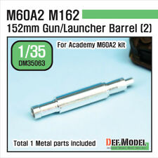DEF. Model, US M60A2 M162 métal gun barrel 2 (for ACADEMY 1/35), DM35063, 1:35
