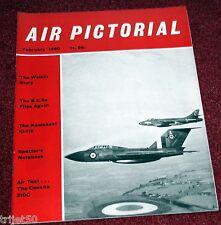 Air Pictorial 1960 February Welkin,Cessna 310,HS129,Ki-119.SE5A