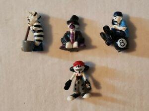 Homies Clowns- Set Of 4. Mint