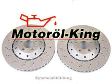 Bremsscheiben gelocht AUDI RS4 B7 / RS 4 Quattro Hinten  324MM