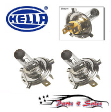 """Porsche Set of 2 Bulbs H4 12V-55/100W """"For Off Road Use Only"""" HELLA H83140141NEW"""