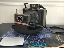 Vintage Polaroid Automatic Land Camera Model 340 + Manual