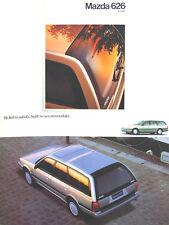 Mazda 626 Estate 1990-93 Original UK Sales Brochure