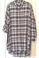 Women s Plaids Checks Sleepshirt Sleepwear   Robes  e2a59b504