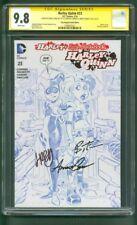 Harley Quinn 23 CGC 3XSS 9.8 Bruce Timm Sketch Variant 2/16 Poly Bagged Ed