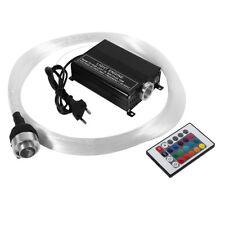 KIT LED 16W RGB FIBRA OTTICA EMETTITORE LUCE PER CIELO STELLATO + 0.75MM*2M CAVO