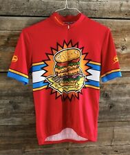 Sugoi Burger & Fries Cycling Jersey Size S/M