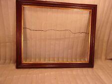 "Antique victorian WALNUT frame 19 1/4 x 23 1/4  holds 16x20 molding 2"""