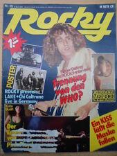 Rocky 15 - 6.4. 1978 (2) Roger Daltrey Lake Kate Bush Cher David Bowie Paul Simon