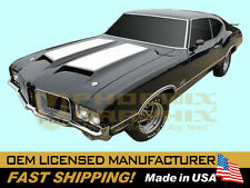1971 GM Oldsmobile 442 W29 Paint Stencil Decal Stripe Kit W25 Air Induction Hood