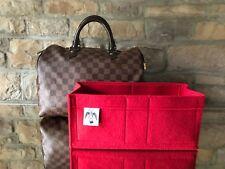 SPEEDY 30 FELT ORGANISER BAG INSERT LINER DAMIER EBENE BEIGE by Handbag Angels