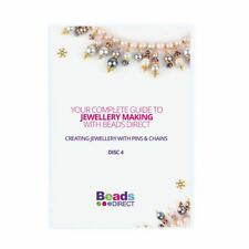 Beads Direct CD-ROM 4 Creating Jewellery With Pins And Chains Brand New