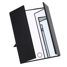Tri-Fold Lighted Led Mirror Travel Compact Pocket Mirror Beauty Makeup Vanity @