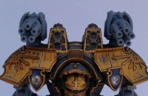 Battle Bling Warlord Super Gatling Carapace for Adeptus Titanicus Warlords