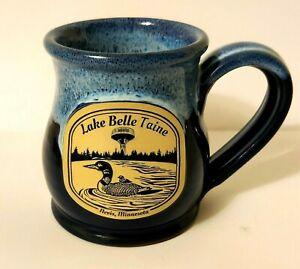 Deneen Pottery Hand Thrown Minnesota Coffee Mug Lake Belle Taine Nevis 2016
