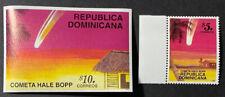 DOMINICAN REPUBLIC 1247 - 48 Beautiful Mint NEVER Hinged Set HALEYS COMET UPTOWN