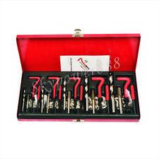 131Pc Thread Repair Kit Tool Set Car Engine Automotive M5 M6 M8 M10 M12