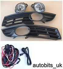 VW PASSAT 3C B6 06-10 56 57 58 59 60 FOG LIGHTS LIGHT LAMPS & GRILLES + WIRING