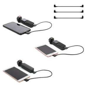 For DJI OSMO POCKET Data Sync Charging Cable iPhone Android Type -C Cord