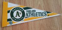Vintage Oakland Athletics Mini Pennant - Banner Flag A's