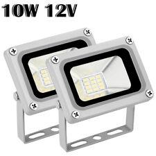 2X 10W Cool White 12V LED Flood Light Outdoor Garden Yard Spot Lamp Waterproof