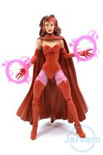 "Marvel Legends 6"" Inch Allfather Odin BAF Scarlet Witch Loose Complete"