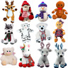 """Reindeer,gingerbread-Build your own Christmas bear making kit gift/party 20cm/8"""""""