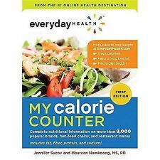 Everyday Health™ My Calorie Counter: Complete Nutritional Information -ExLibrary