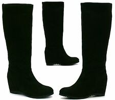 Wedge Pull on Unbranded Knee High Women's Boots