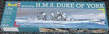 Revell HMS Duque de York Modelo no. 05105 escala 1/700.