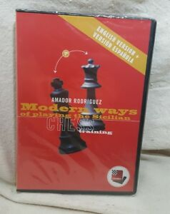 Fritz Chess Training Modern Way of Playing The Sicilian A. Rodriguez Eng/ Span