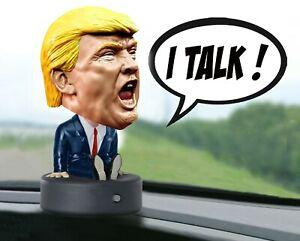 Trash Talking President Trump Bobblehead Collectible