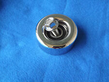 "Chrome 85-93 Mustang LX GT Cobra Saleen 3"" Tensioner Pulley & Bolt, 5.0"