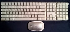 Apple iMac GENUINE A1048 USB Wired White Keyboard 2 USB Ports and Wireless Mouse