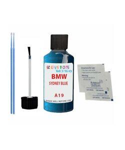 Touch up Paint for BMW SYDNEY BLUE A19 1,3,5,6,7,X3,X5,X6,Z3,Z4,SERIES