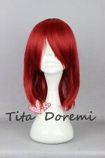 Halloween Wig Cosplay Black Butler Angelina Dares red short party fashion Hair